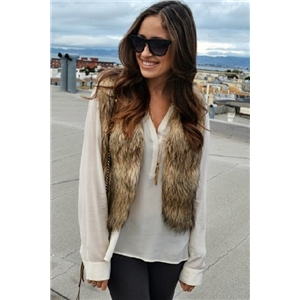 Fake Fur Vest (Short Version)