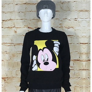 Casual Cartoon Printing Mickey Thick Sweatshirt