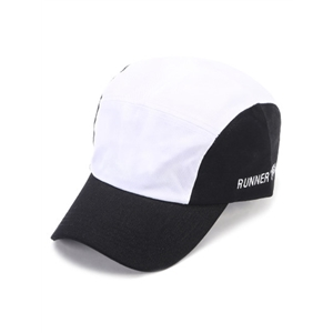 Black And White Outdoor Baseball Cap