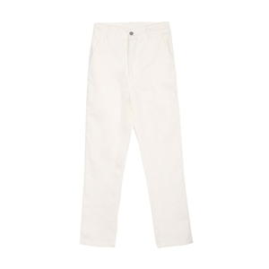 Streets of Europe and the tide white slim casual Pocket trousers women