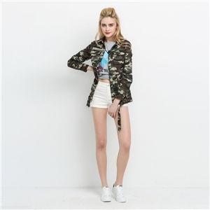 Missguided Studded Camo shacket