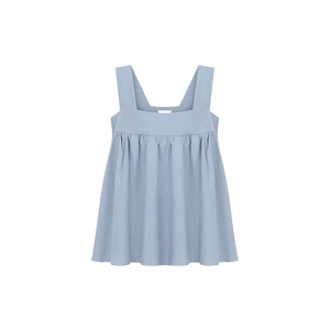 Tank Top Solid Color Sleeveless Sweet Top