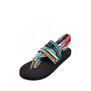 Sandals Ethnic Style Comfy Flat Thong Sandals