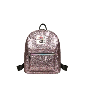 Backpack Sweet Glitter Durable Zipper Bag