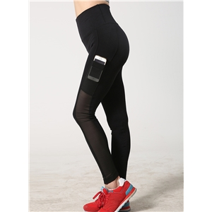 Skinny Sports Ankle Leggings with Side Pocket