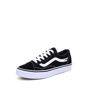 M.GENERAL Sneakers Flat Heel Color Block Lace Up Casual Shoes