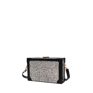 Crossbody Bag Trendy All Match Sequins Square Bag