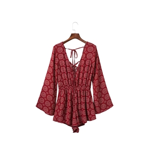 Ruby Embroidery Romper
