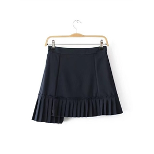 Stylish High Waist Pleated Skirt