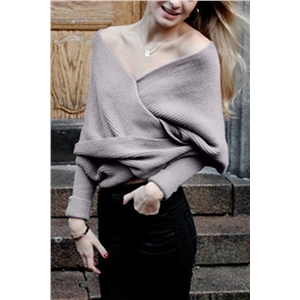 Classic Solid Color Wrap Batwing Sleeve Shawl