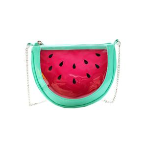 Transparent Watermelon Chain Shoulder Bag