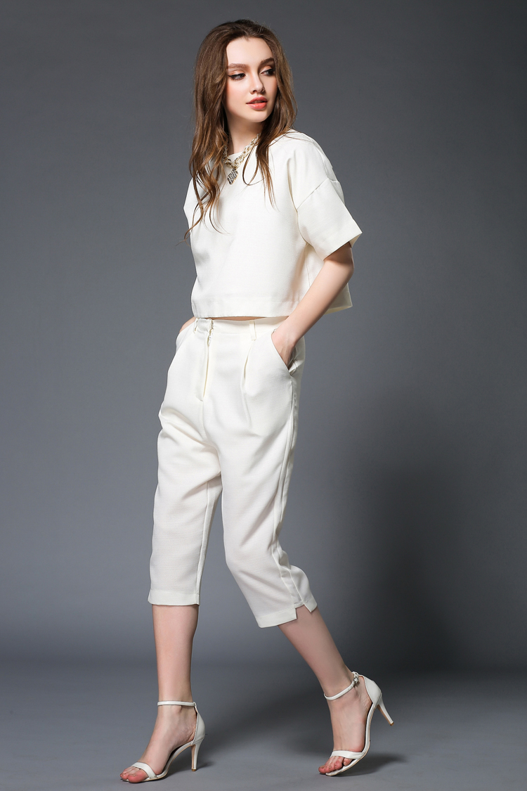 Images of White Pants Suit - The Fashions Of Paradise