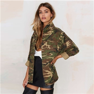 Europe vintage military style camouflage Joker leisure jacket