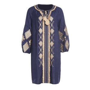 Boho Embroidered Tunic