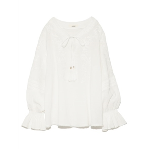 Hippie Style Embroidered Top
