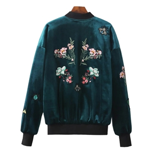 Velvet Embroidery Jacket