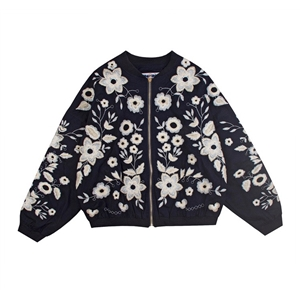 Embroidery Floral Jacket
