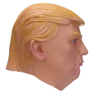 Donald Trump Costume Mask Celebrity Cosplay Full Face Halloween Party Masquerade Carnival Mask Latex Ornament Real Simulate Mask