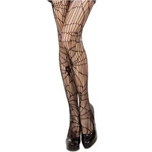 Halloween skull print fashion pantyhose female stockings sexy lingerie nylon spandex fabric black stockings fishnet