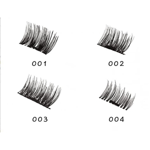 magnetic eyelashes -Angel Kiss 1 Pair 4 Pieces Ultra-thin  Fake Mink Eyelashes for Natural Look, Reusable Best Fake Lashes