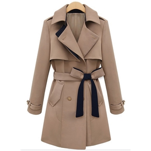 Classic Trench Coat with Belt
