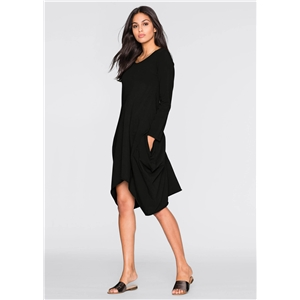 Women's Pockets Loose Casual Dress