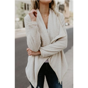 Solid Long Sleeves Casual Cardigan