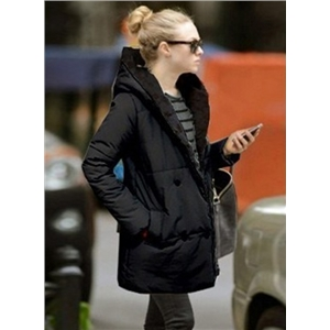 Fashion Hooded Thicken Coat