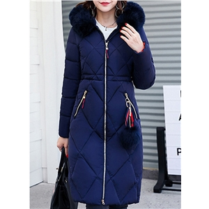 Fashion Faux Fur Tim Hooded Down Coat