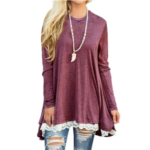 Solid Long Sleeves Loose Casual Shirts