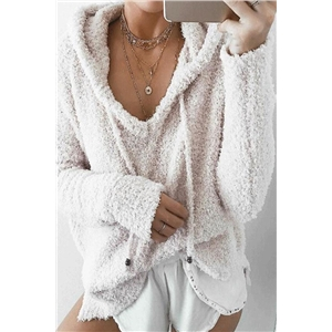 Long Sleeves Loose Fitting Cute Hoodies
