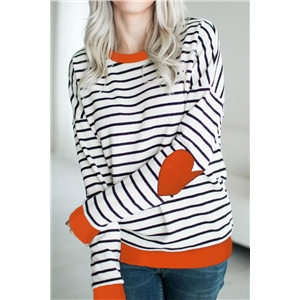 Stripe Casual T-shirt