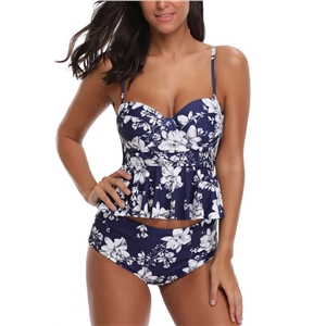 Drizzle Afternoon Mesh Two Piece Swimwear