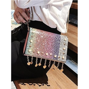 Stud Detail PU Cross Body Bag