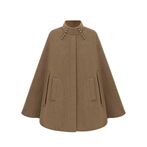 Fashion Winter Warm Woolen Cape Cloak Coat