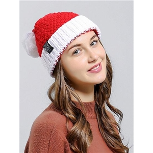 Red Woolen Christmas Hat