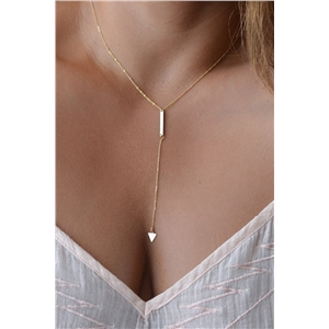 Golden Plated Pendent Necklace