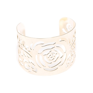 Hollow Cut Out Cuff Bracelet