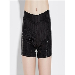 High-elastic stretchable sequin shorts stage costumes performance jazz dance costumes