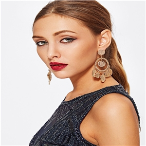 Personality simple fashion exaggerated earrings