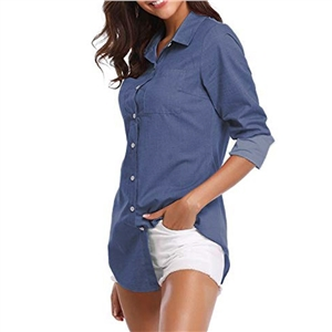 Spring and summer shirt wild cowgirl shirt