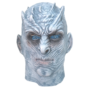 The right game COS different ghost night wigs Halloween horror ghost haunted house props latex night king mask