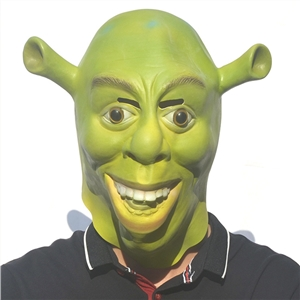 Shrek Movie Shrek Halloween Mask Masquerade Party Funny Adult Latex Headgear