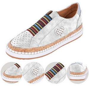 Comfortable flat bottom breathable casual women's shoes