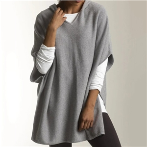 2020 Autumn Sweater Solid Color V-neck Loose Pullover Knitted Top Jacket