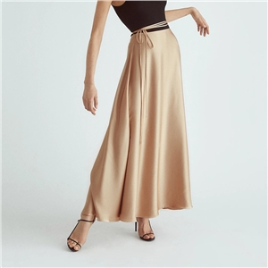 Women's sexy cardigan strap high waist half-length dress skirt